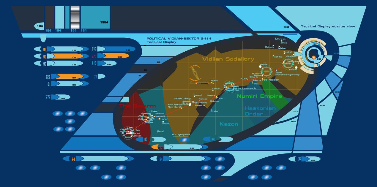 Star Trek Hope POLITICAL Vidiian Sektor 2414 by LillithsBernard