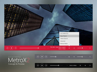 VLC - MetroX2 - Preview by Maverick07x
