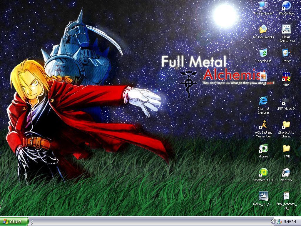 Fullmetal Alchemist Wallpaper By Takun