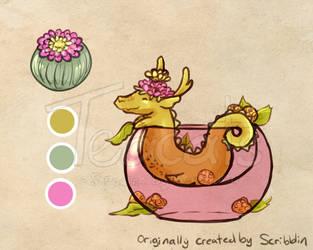 Pink yellow - serpentine - 1st gen by Teacatalog