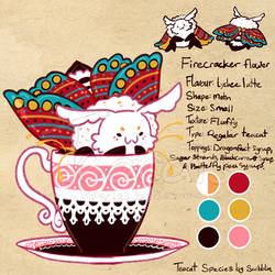 Lychee latte - moth - 5th gen by Teacatalog