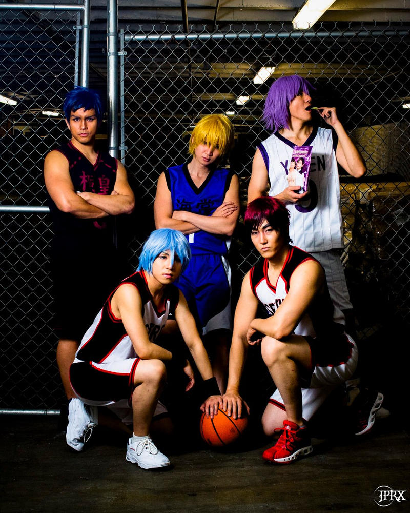 Kuroko no Basket: All stars by SoCoPhDPepper