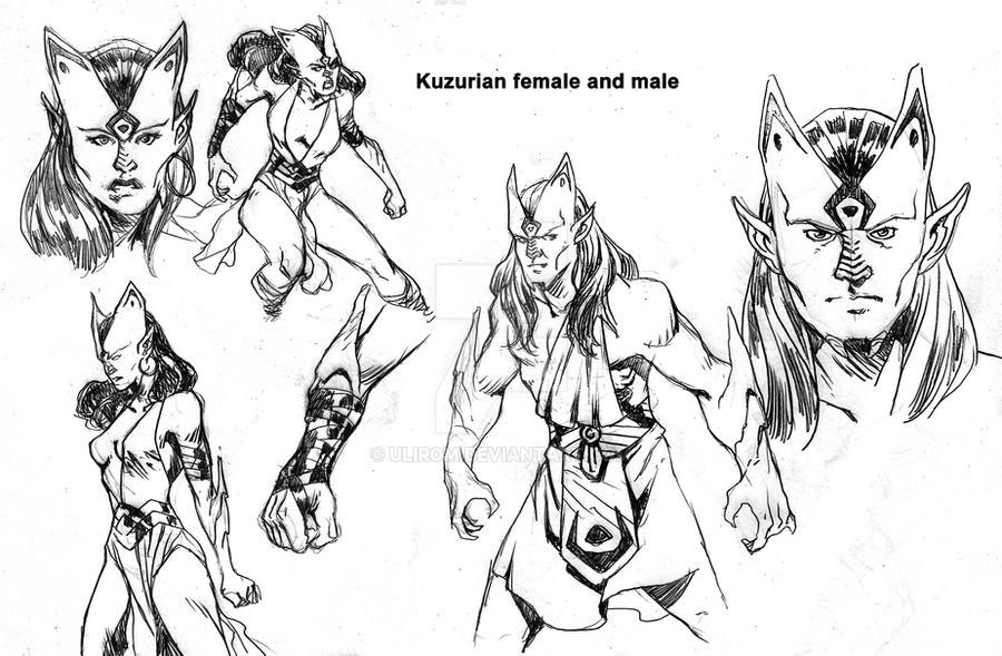 Kuzurians by Ulirom