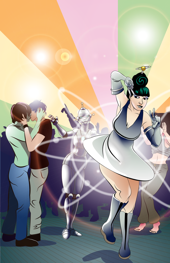 Atomic Dance Party by doctor-morbius