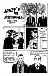 Janey and the Missionaries page 1
