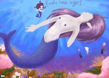Mermaid- oekaki