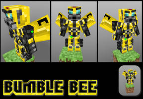 TRANSFORMERS        Bumble bee in Minecraft by GhosT-Player