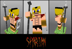 300 Spartan in Minecraft by GhosT-Player