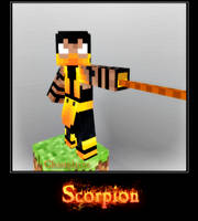 Scorpion in Minecraft by GhosT-Player