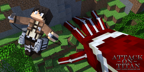 Attack On Titan - Minecraft by GhosT-Player