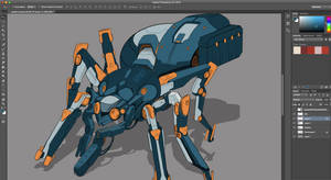 WIP Spidercrab