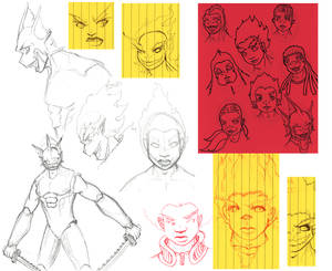 Sketchdump January 12 2010