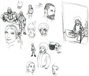 Sketchdump January 13 2010
