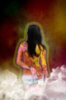 girl in cloud by djnnayt