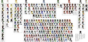 All Loyalists Space Marine Chapters by djnnayt