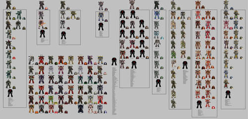 All Space Marine Chaos warband (chaos chapter)