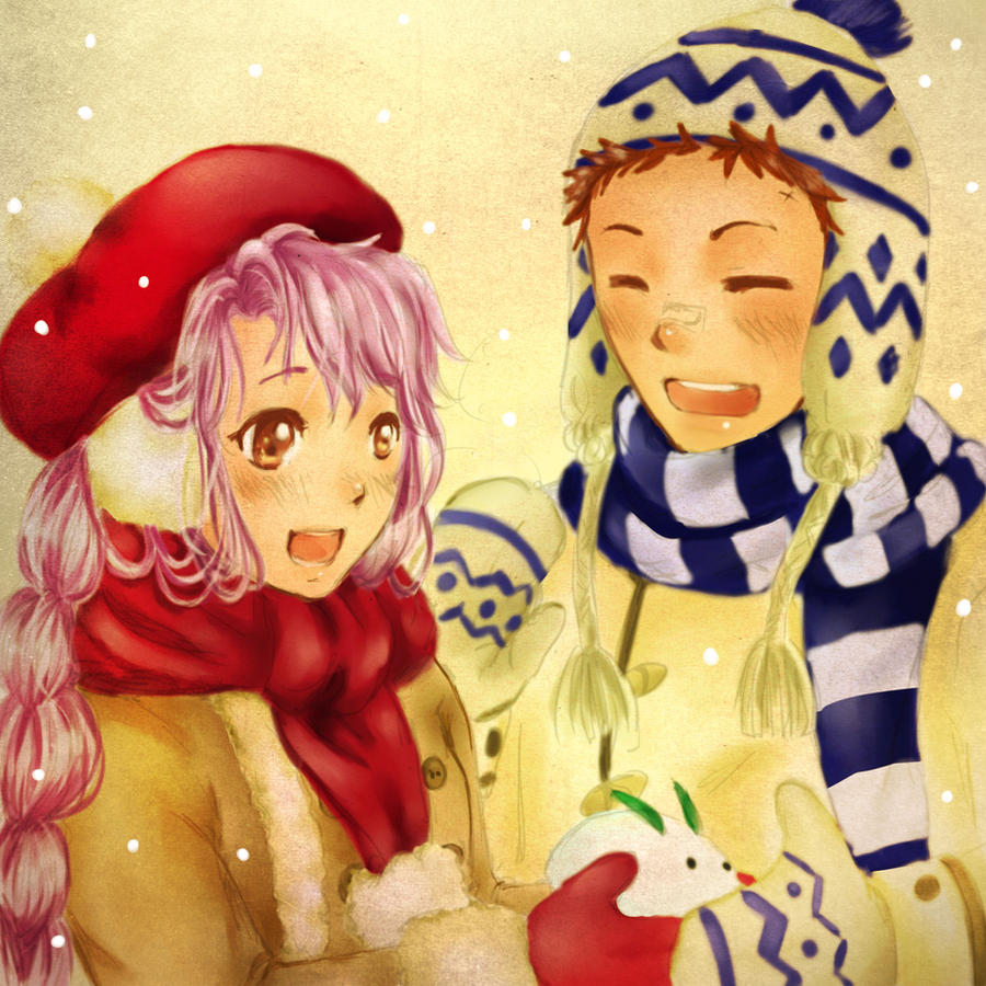 Happy Winter by sevenbunnyboyz
