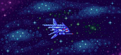 Shmup ship by Phoenix-849