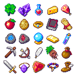 RPG items set by Phoenix-849