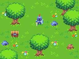 Knight and grass mockup by Phoenix-849