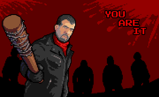 Negan and Lucille by Phoenix-849