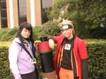Hinata and Naruto at Connooga 2012