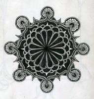 arabic mandala by MadamStephana