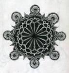 arabic mandala