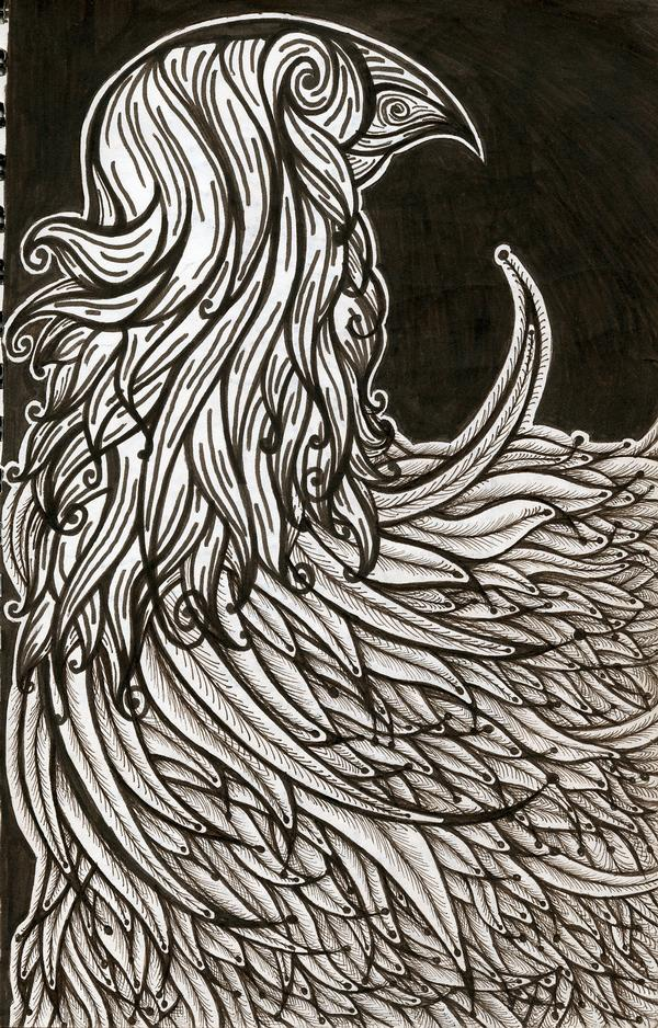 feathers by MadamStephana
