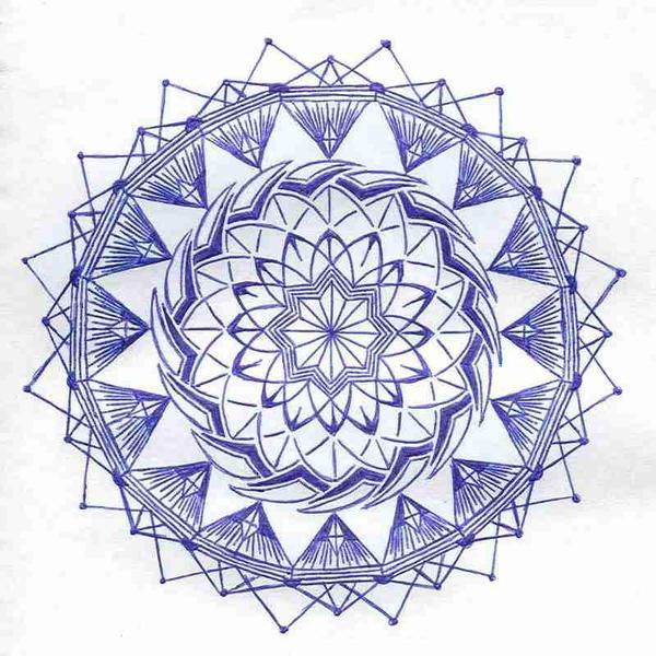 a mandala by MadamStephana