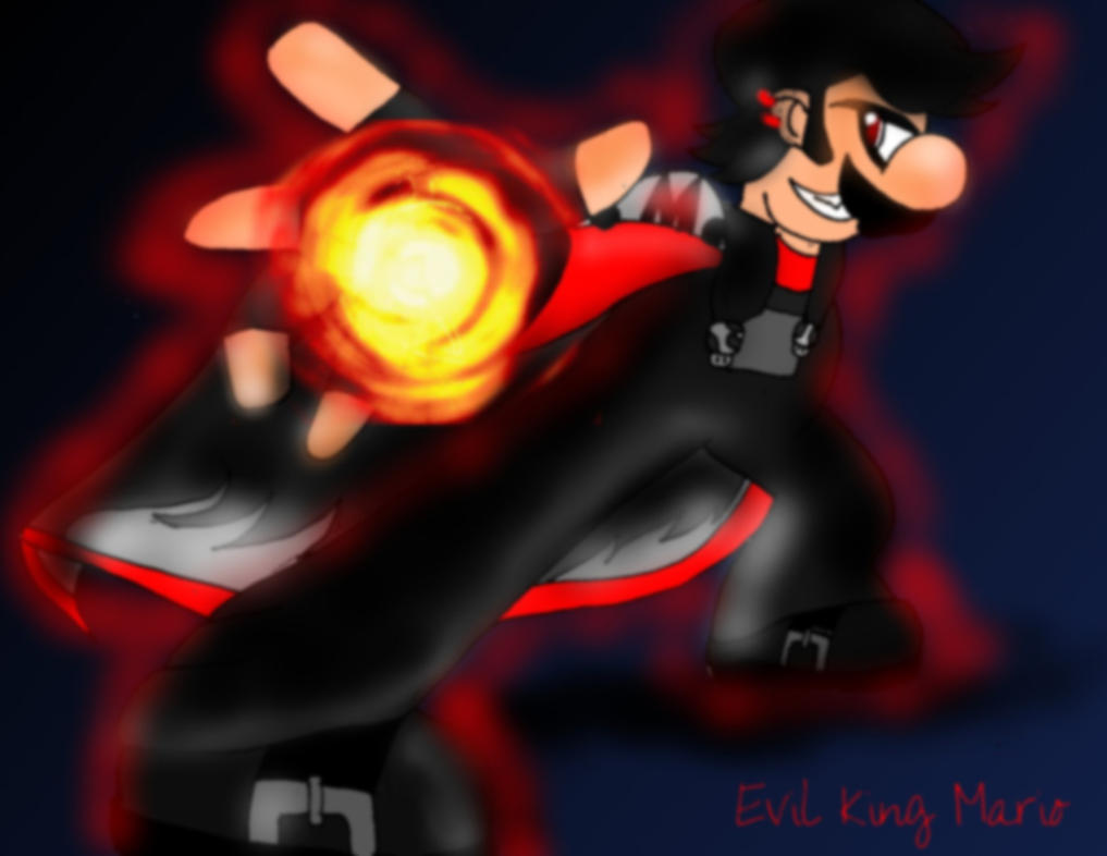 Evil King Mario by Mephonix on DeviantArt
