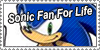 Sonic Fan For Life by Mephonix