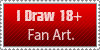18+ Fan Artist Stamp by Mephonix