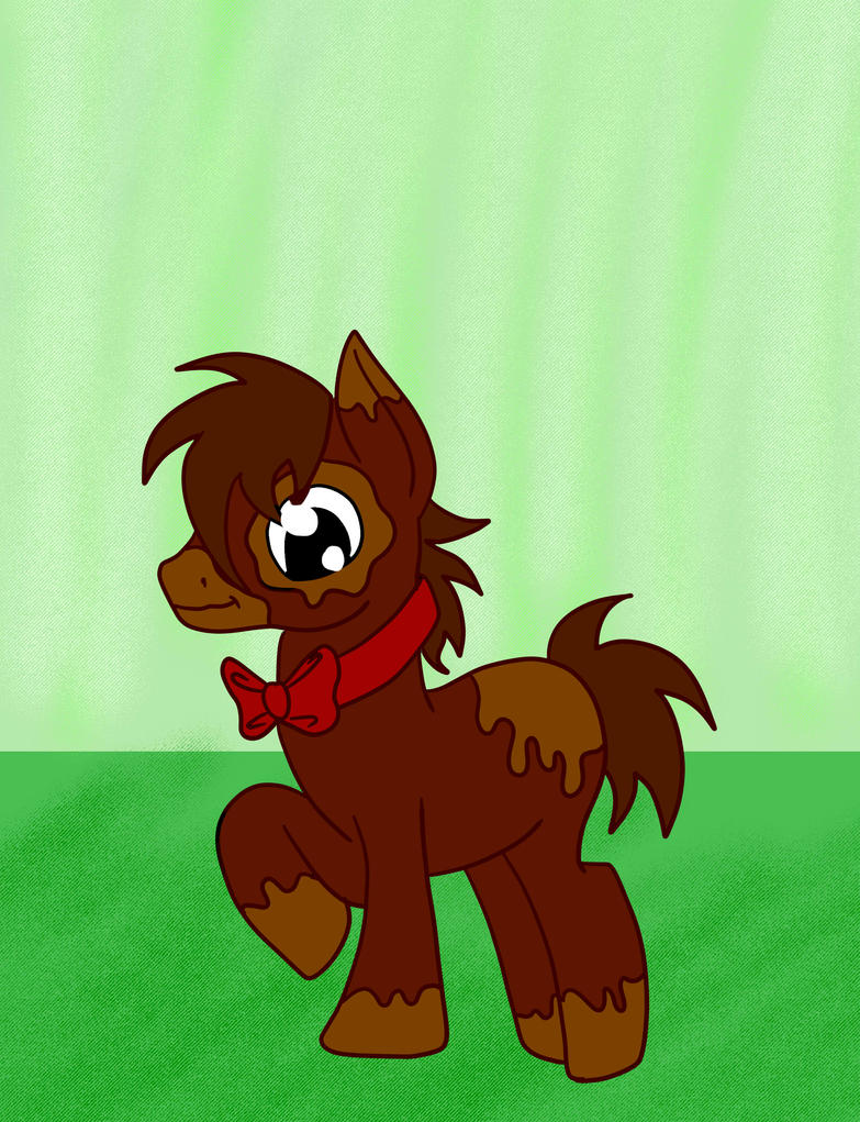 Chocolate Themed MLP Adopt for Artistichooves by Mephonix