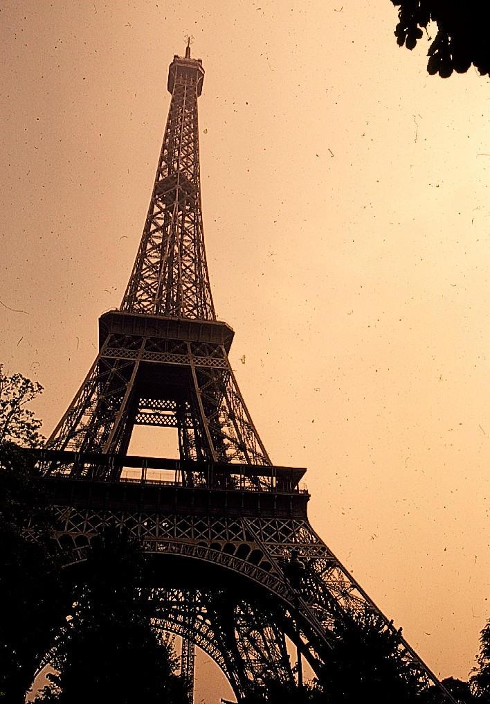 Antique Eiffel Tower By Lilstiffy On Deviantart