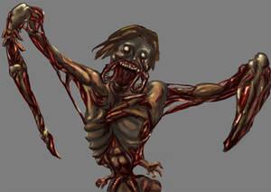 Necromorph detail