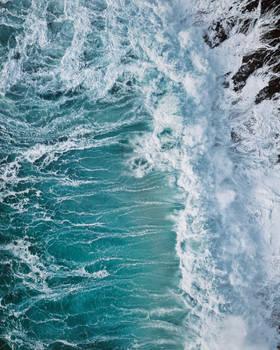 blue, blue ocean