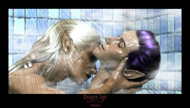 Airam and Zevran - Shower