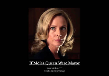 Moira Mayorial Motivational Poster