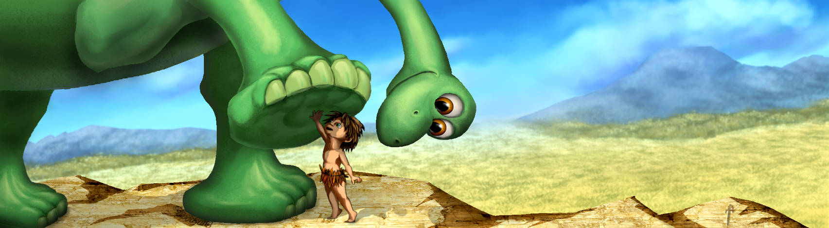 The Good Dinosaur: Touch