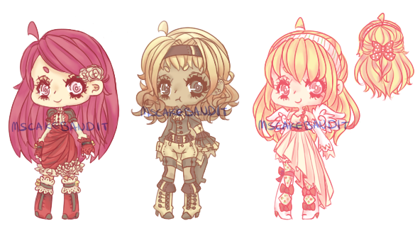 ::Adopts:: Cake Girls CLOSED by K0USEKI