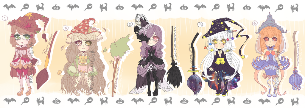 ::Adopts:: HALLOWEEN SET 01 OTA OPEN by K0USEKI