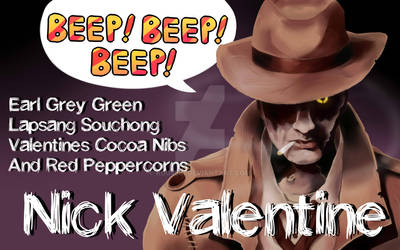 ::Tea:: Nick Valentine - Beep, Beep, Beep! by K0USEKI