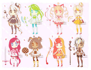 ::Adopts:: Magical Dessert Girls CLOSED