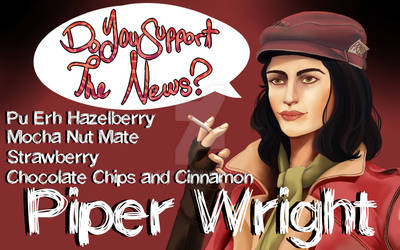 ::Tea:: Piper Wright - Do you Support the News? by K0USEKI