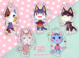::Charms:: ACNL kitties