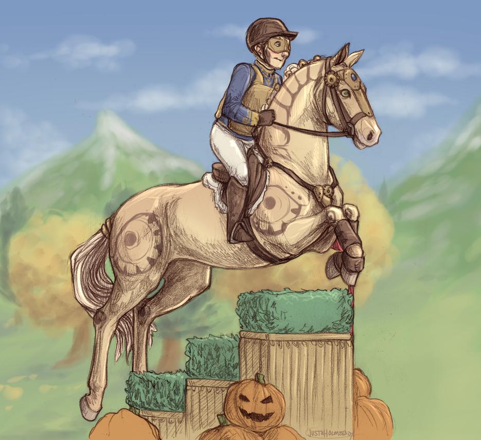 Pumpkin Patch by ofcowardiceandkings