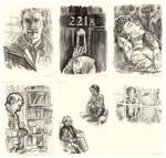 BBC Sherlock Study Books: A Study In Pink (3/5)
