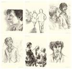 BBC Sherlock Study Books: A Study In Pink (4/5)