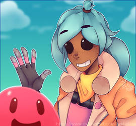 Slime Rancher by Just-Elina